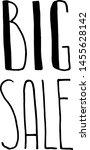 sale. vector design. lettering. ...   Shutterstock .eps vector #1455628142