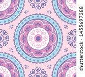 seamless vector pattern of a...   Shutterstock .eps vector #1455697388