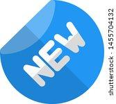 new item for sale logotype... | Shutterstock .eps vector #1455704132
