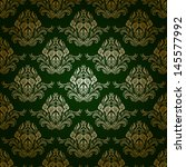 Damask Seamless Vector Pattern...
