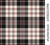 seamless fabric texture. tartan ... | Shutterstock .eps vector #1456021598