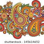 seamless pattern based on... | Shutterstock .eps vector #145614652