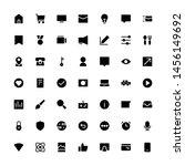 miscellaneous icon set glyph 32 ...   Shutterstock .eps vector #1456149692
