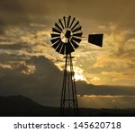 Sunset Over The Karoo South...