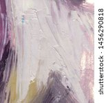 Delicate Abstract Oil Painting...