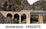 Train On The Bridge Through A...