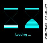loading bar concept as colorful ... | Shutterstock .eps vector #1456360895