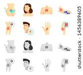 bitmap illustration of hospital ...   Shutterstock . vector #1456389605