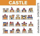 castle  medieval buildings... | Shutterstock . vector #1456392275