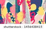 creative doodle art header with ...   Shutterstock .eps vector #1456438415