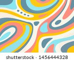 creative artistic colorful... | Shutterstock .eps vector #1456444328