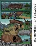Noah's Ark And The Animals