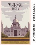 West Bengal Retro Poster. Indi...