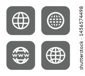 set of world wide for web... | Shutterstock .eps vector #1456574498