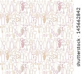 seamless vector pattern with... | Shutterstock .eps vector #145662842