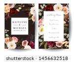 vertical label dark frames of... | Shutterstock .eps vector #1456632518