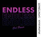 endless graphic design print t...   Shutterstock .eps vector #1456728635