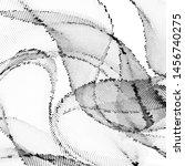 light halftone dots pattern... | Shutterstock .eps vector #1456740275