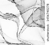 light halftone dots pattern... | Shutterstock .eps vector #1456740278