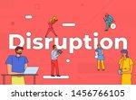 illustrations business teamwork ...   Shutterstock .eps vector #1456766105