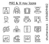 x ray  mri   medical diagnostic ... | Shutterstock .eps vector #1456809482