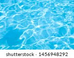 Blue Water In Swimming Pool...
