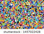 multicolor triangles pattern.... | Shutterstock .eps vector #1457022428