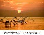 Beautiful Landscape Of Sunrise...