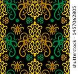 seamless pattern of dayak batik....   Shutterstock .eps vector #1457062805