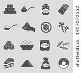 Sugar Icons. Sticker Design....
