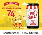 illustration of indonesian...   Shutterstock .eps vector #1457130608