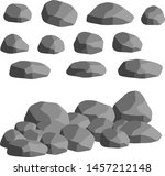 natural wall stones and grey... | Shutterstock .eps vector #1457212148