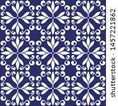 ceramic tile  portuguese tiles...   Shutterstock .eps vector #1457221862