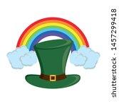 saint patricks day irish... | Shutterstock .eps vector #1457299418