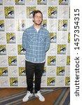 andy samberg attends 2019 comic ... | Shutterstock . vector #1457354315