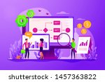 company strategy. work... | Shutterstock .eps vector #1457363822
