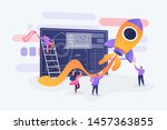 startup new business project.... | Shutterstock .eps vector #1457363855