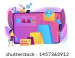 shopping sale. discount offer....   Shutterstock .eps vector #1457363912
