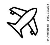 airplane icon template logo...
