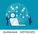 seo optimization. concept...   Shutterstock .eps vector #1457421692