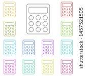 small calculator multi color...