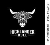 Highlander Bull Vintage Logo...