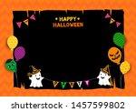 illustration vector of happy... | Shutterstock .eps vector #1457599802