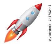 space rocket | Shutterstock . vector #145762445