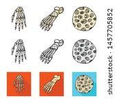 vector illustration of medicine ... | Shutterstock .eps vector #1457705852
