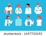 vector illustration in flat... | Shutterstock .eps vector #1457723192