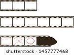frames of film  grungy photo... | Shutterstock .eps vector #1457777468