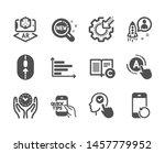 set of science icons  such as... | Shutterstock .eps vector #1457779952