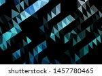 light blue vector polygonal... | Shutterstock .eps vector #1457780465