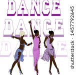 latin american dances are a... | Shutterstock .eps vector #1457792645